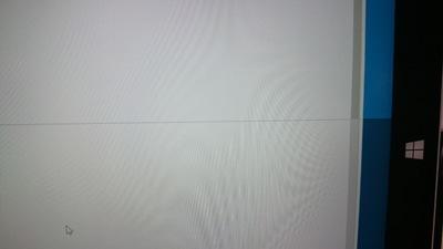 ハングアップ画面